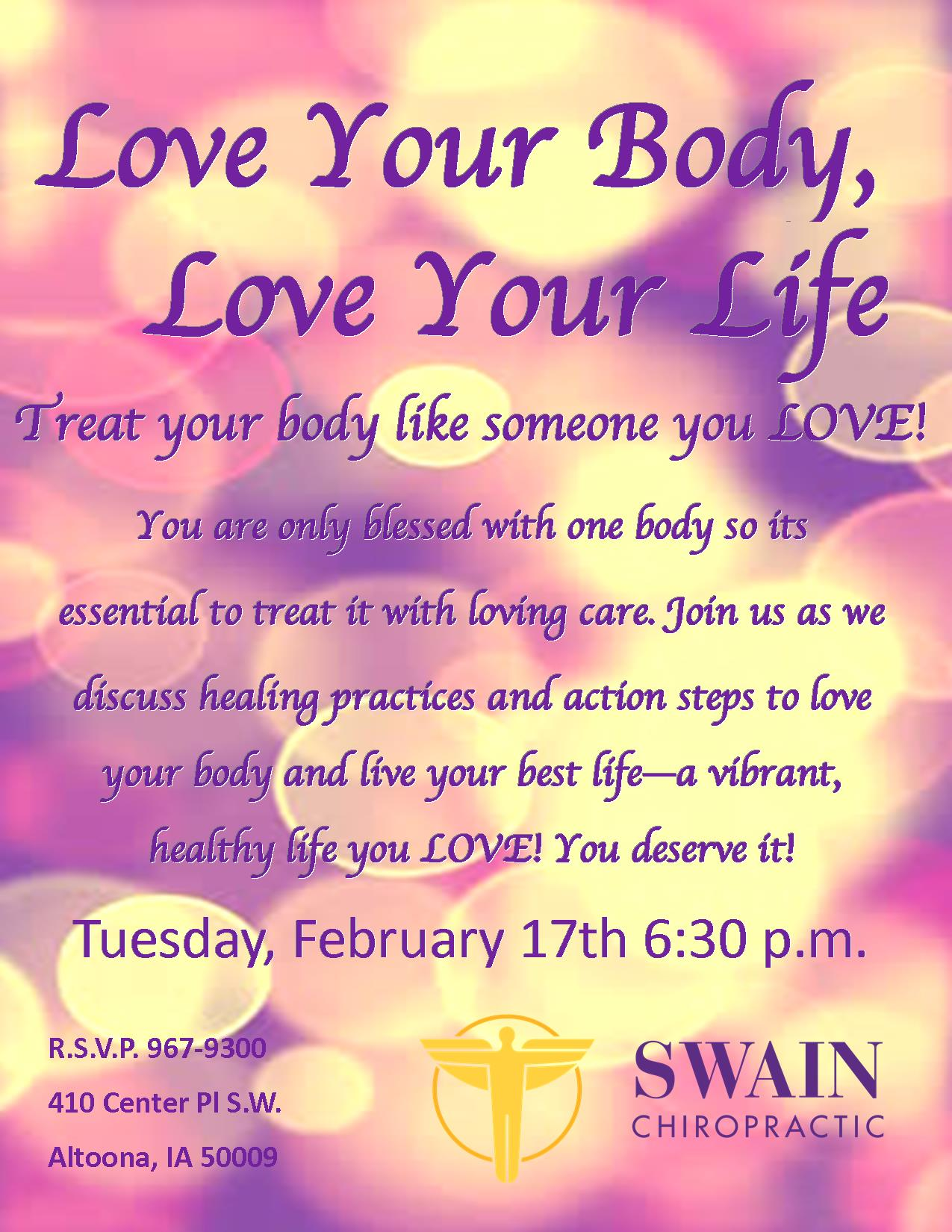 Love Your Body class